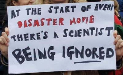 Why are scientists being ignored?